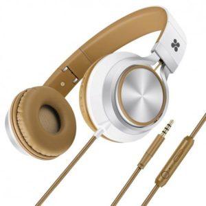 Promate Spectrum Ενσύρματα Αναδιπλούμενα Ακουστικά